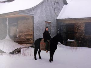 À cheval à Kamouraska